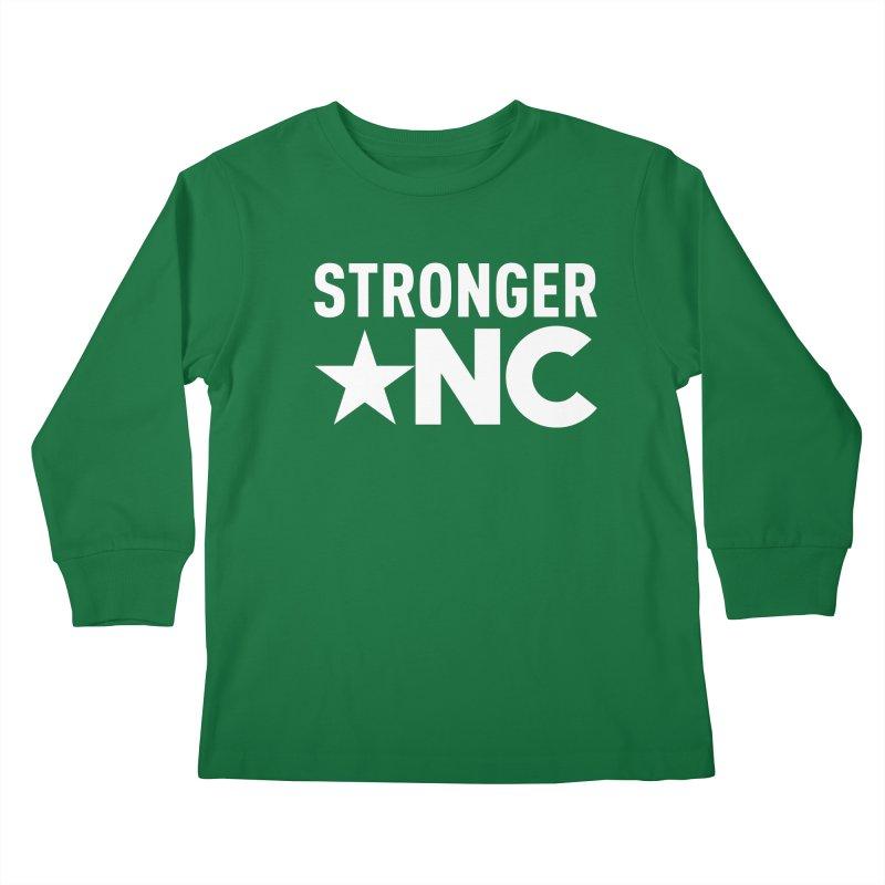 Stronger NC Logo Kids Longsleeve T-Shirt by Stronger NC