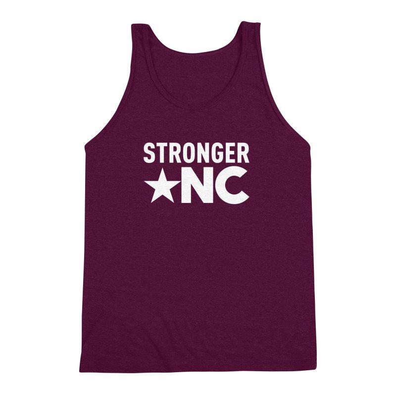 Stronger NC Logo Men's Triblend Tank by Stronger NC