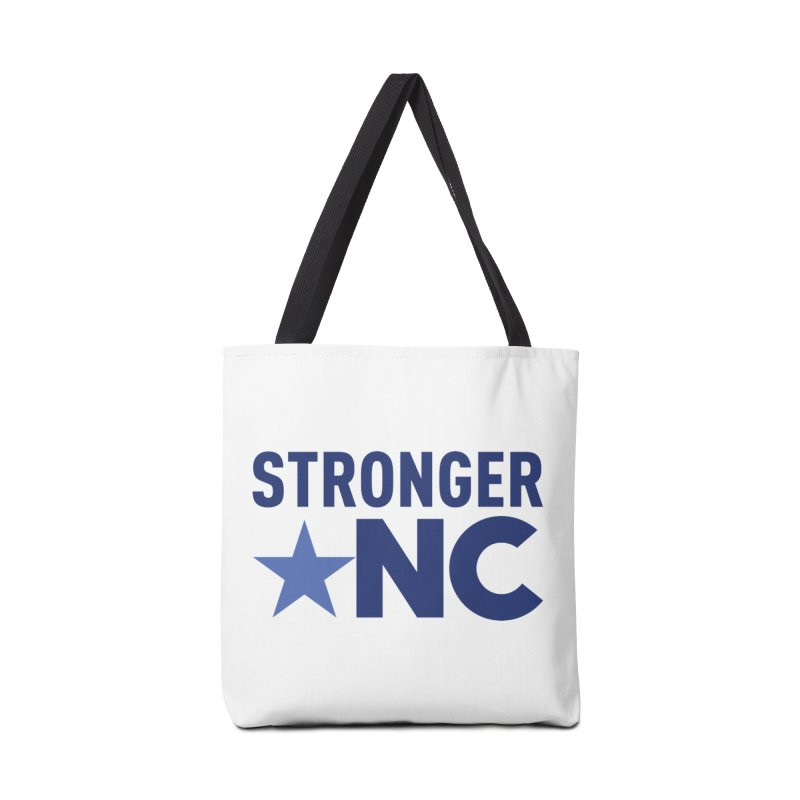 Stronger NC Color Logo in Tote Bag by Stronger NC