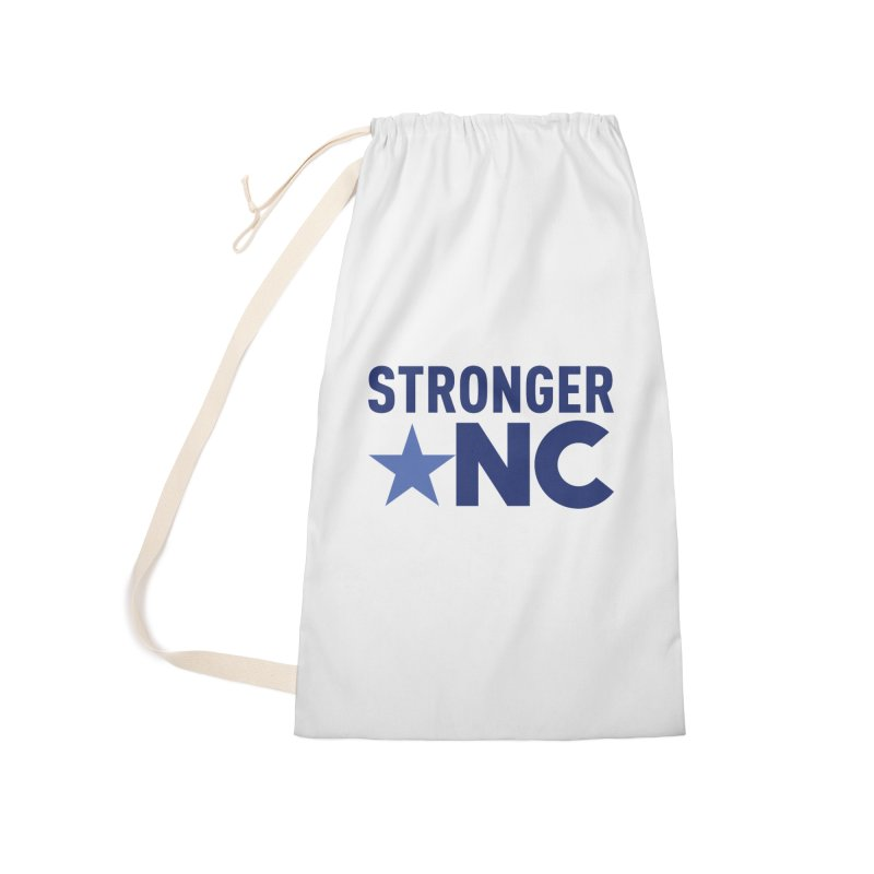 StrongerNC Navy Logo Accessories Bag by Stronger NC