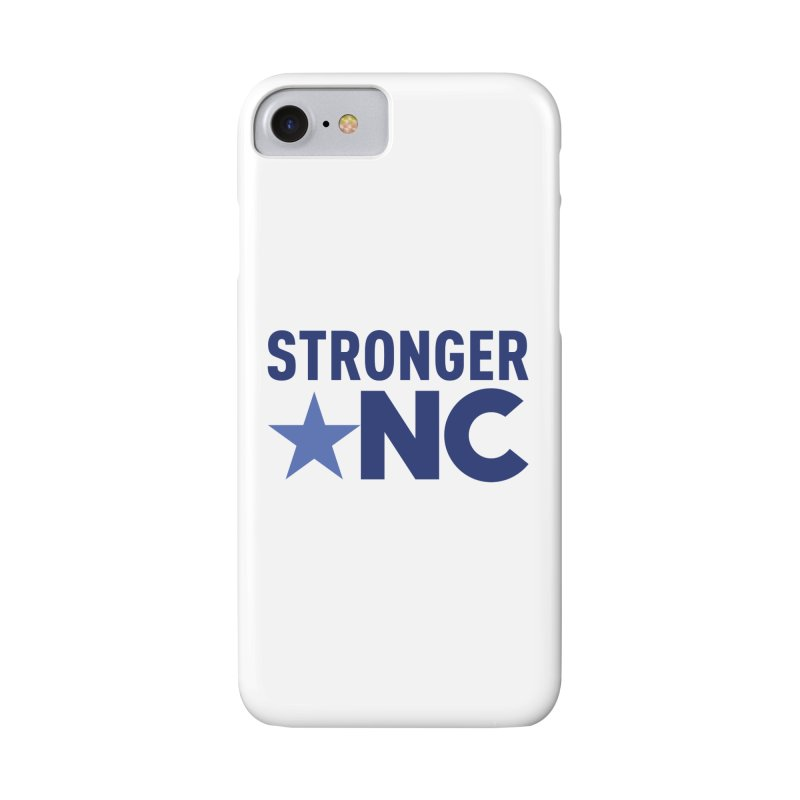 StrongerNC Navy Logo Accessories Phone Case by Stronger NC