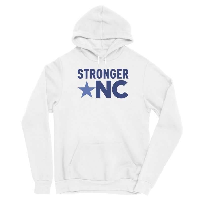 StrongerNC Navy Logo Women's Pullover Hoody by Stronger NC