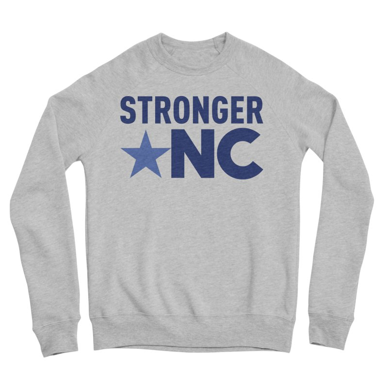 Stronger NC Color Logo Women's Sponge Fleece Sweatshirt by Stronger NC