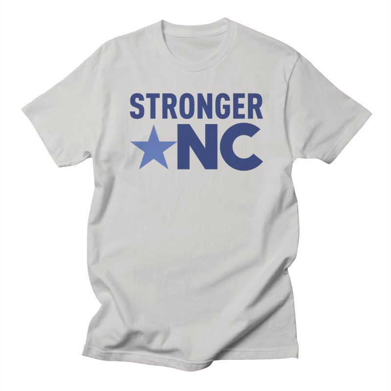 Stronger NC Color Logo Women's Regular Unisex T-Shirt by Stronger NC