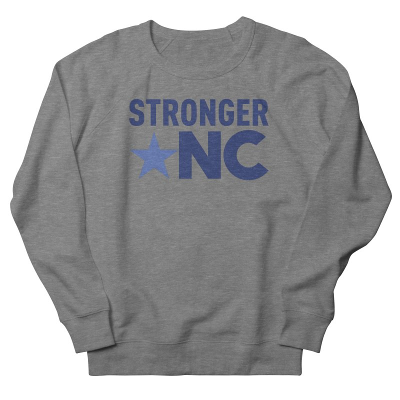 StrongerNC Navy Logo Men's Sweatshirt by Stronger NC
