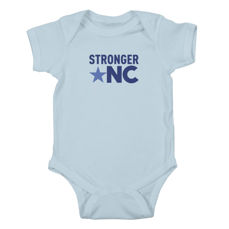 Stronger NC Color Logo Kids Baby Bodysuit by Stronger NC