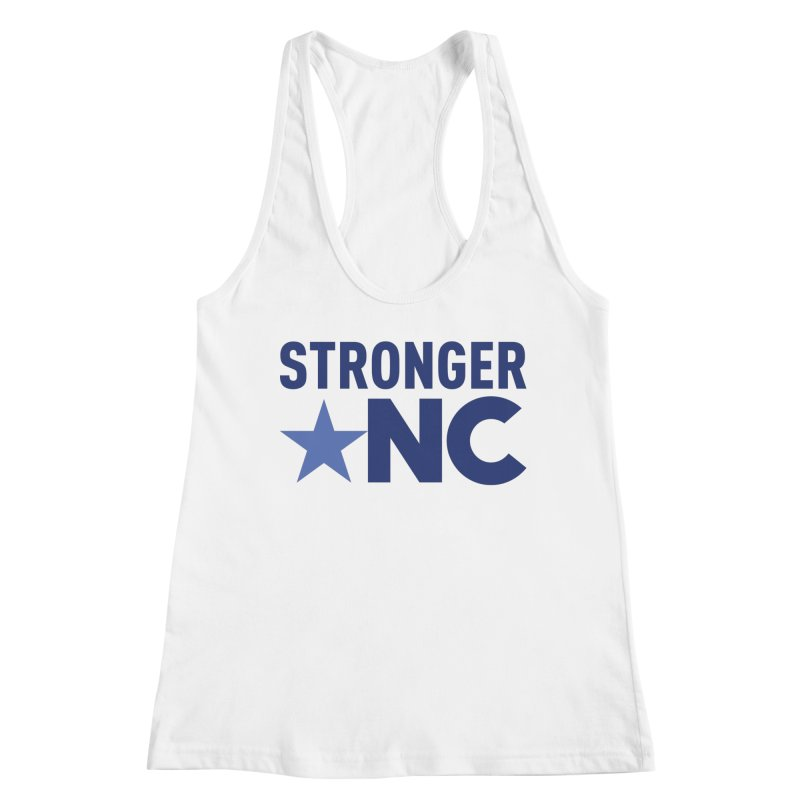 StrongerNC Navy Logo Women's Tank by Stronger NC