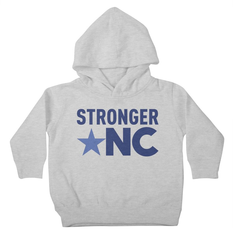 Stronger NC Color Logo Kids Toddler Pullover Hoody by Stronger NC