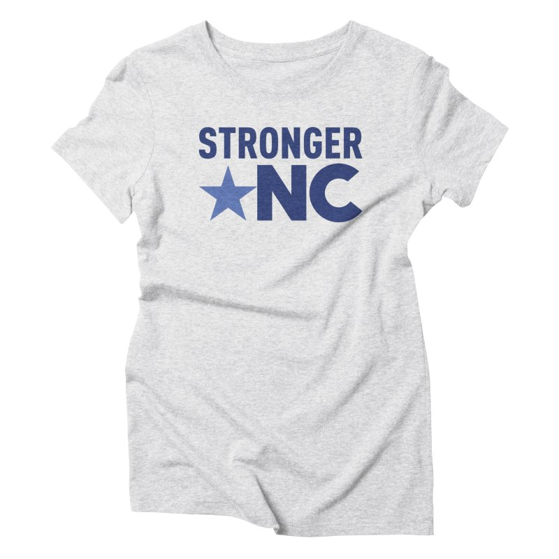 StrongerNC Navy Logo Women's T-Shirt by Stronger NC