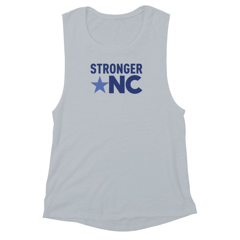 Stronger NC Color Logo Women's Muscle Tank by Stronger NC