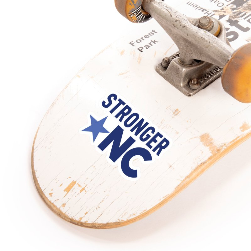 StrongerNC Navy Logo Accessories Sticker by Stronger NC