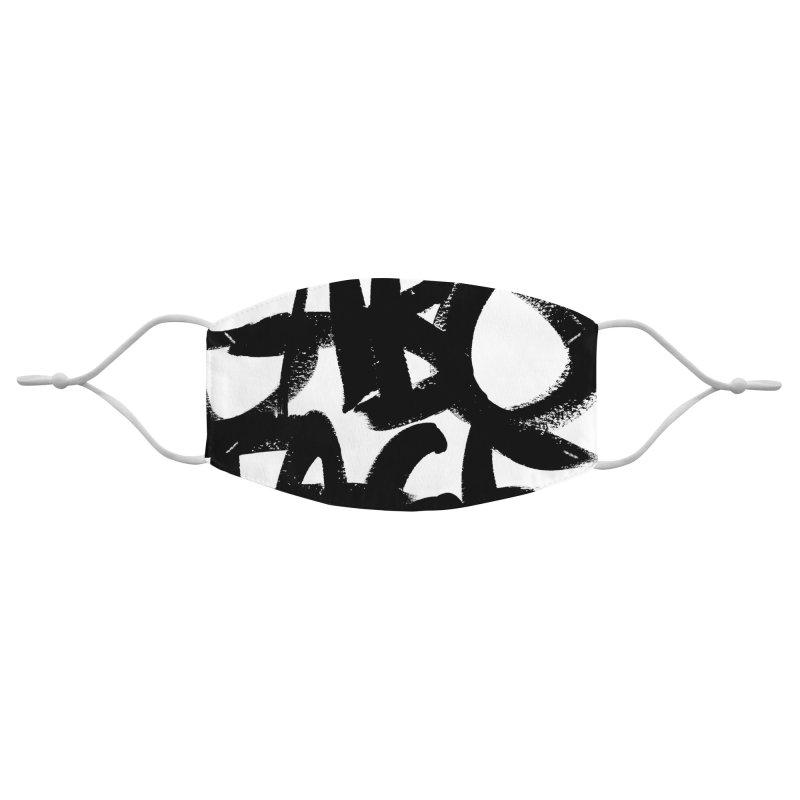 Sabotage Accessories Face Mask by Johnathon Strube Artist Shop