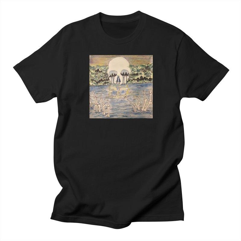 River of the dead Men's T-Shirt by strumaround's Artist Shop