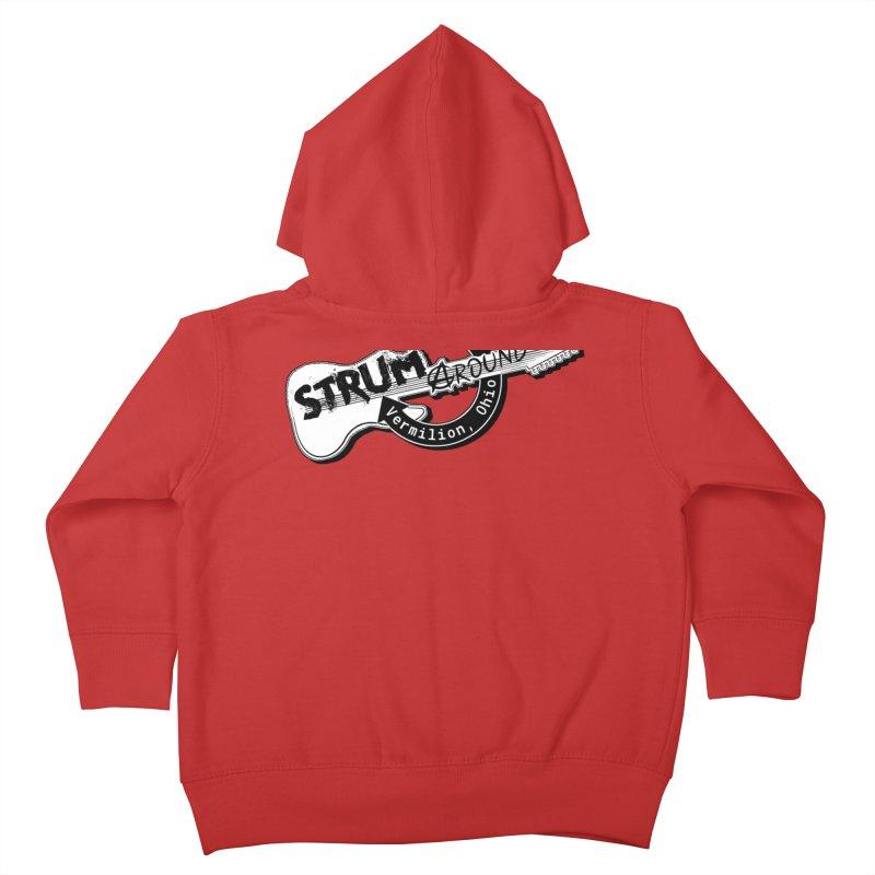 Strum Around  VIP shirt Kids Toddler Zip-Up Hoody by strumaround's Artist Shop