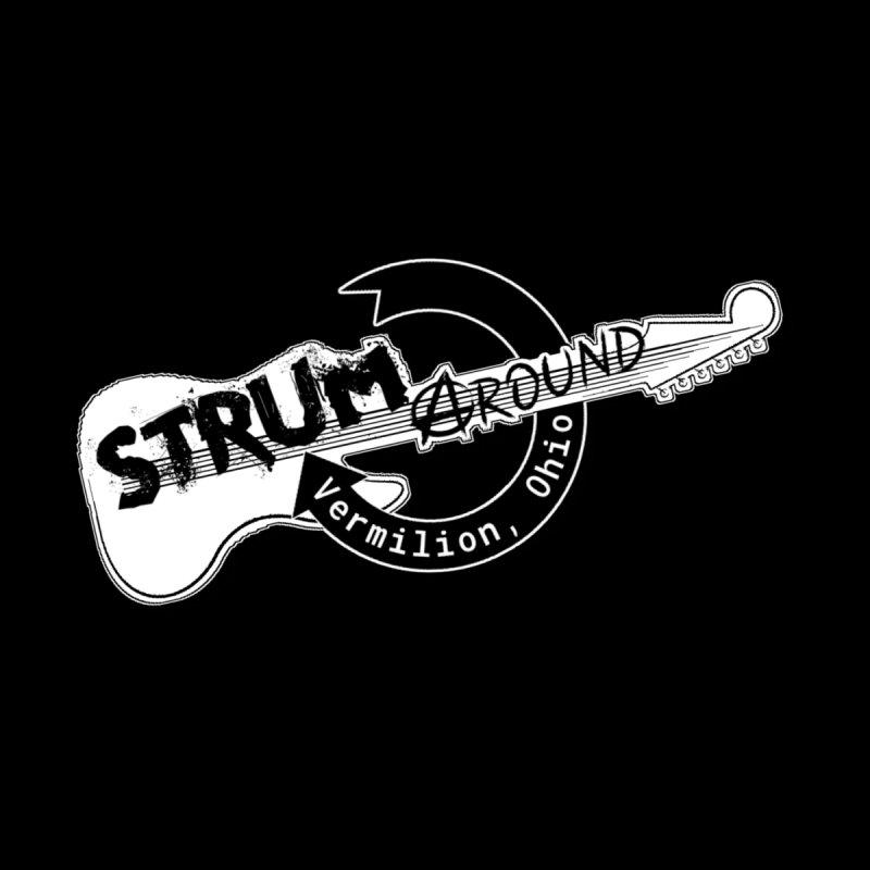 Strum Around Vermilion Ohio Men's T-Shirt by strumaround's Artist Shop