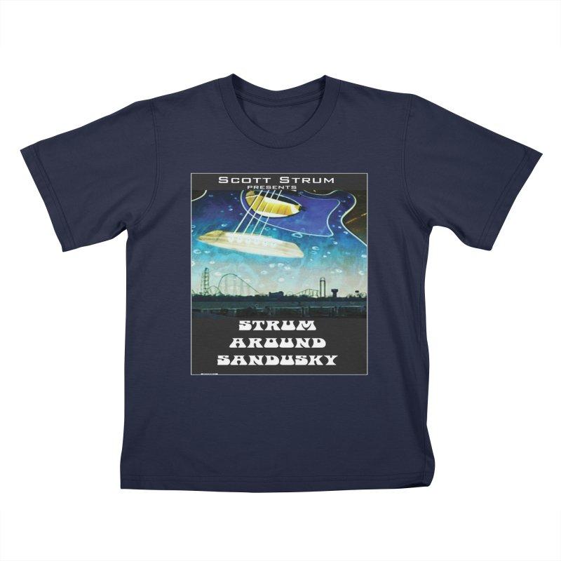 Scott Strum editions Kids T-Shirt by strumaround's Artist Shop