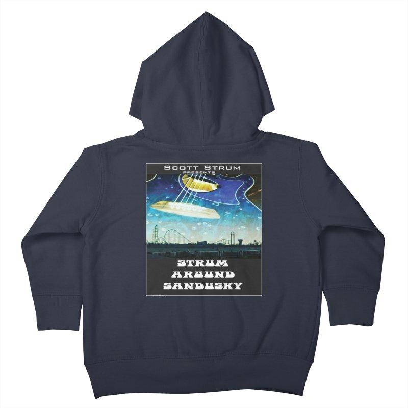 Scott Strum editions Kids Toddler Zip-Up Hoody by strumaround's Artist Shop