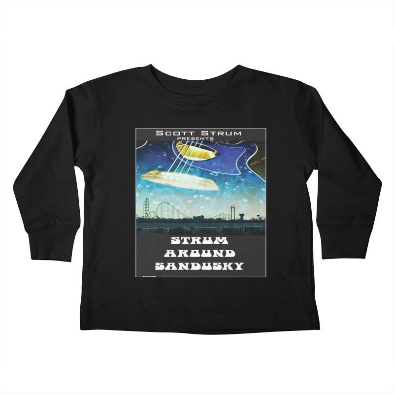 Scott Strum editions Kids Toddler Longsleeve T-Shirt by strumaround's Artist Shop