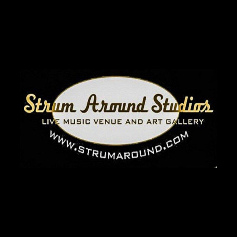 Strum Around Studio (LOGO) Men's T-Shirt by strumaround's Artist Shop