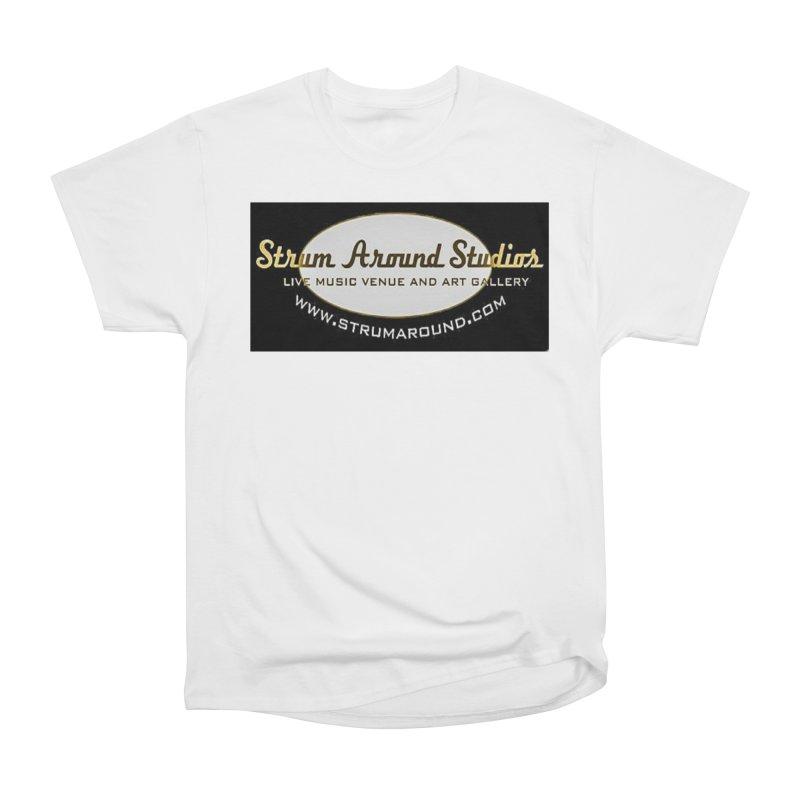 Strum Around Studio (LOGO) Women's T-Shirt by strumaround's Artist Shop