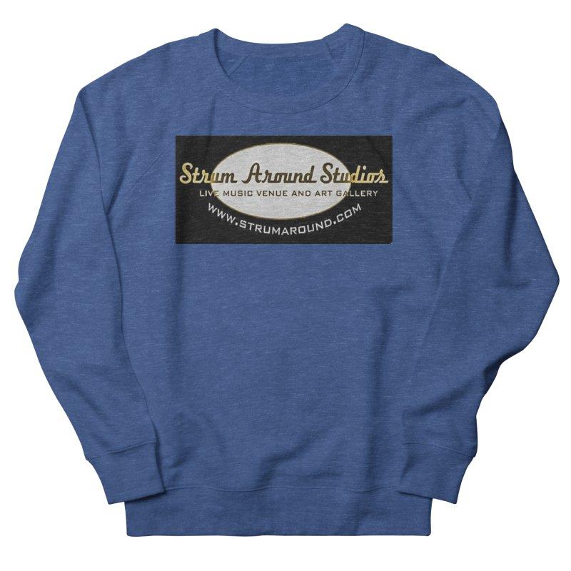 Strum Around Studio (LOGO) Men's Sweatshirt by strumaround's Artist Shop