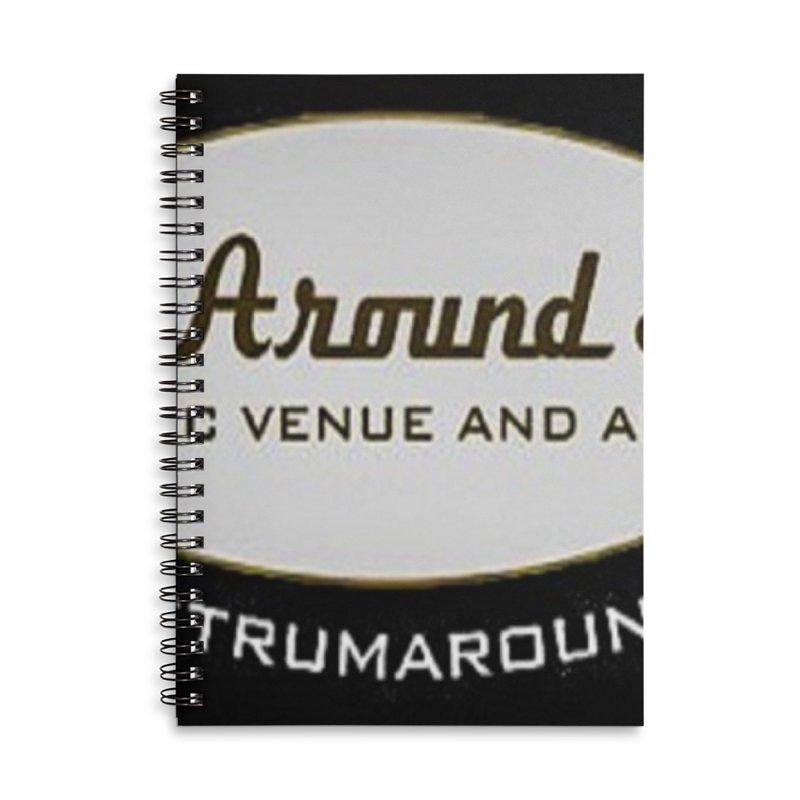 Strum Around Studio (LOGO) Accessories Notebook by strumaround's Artist Shop