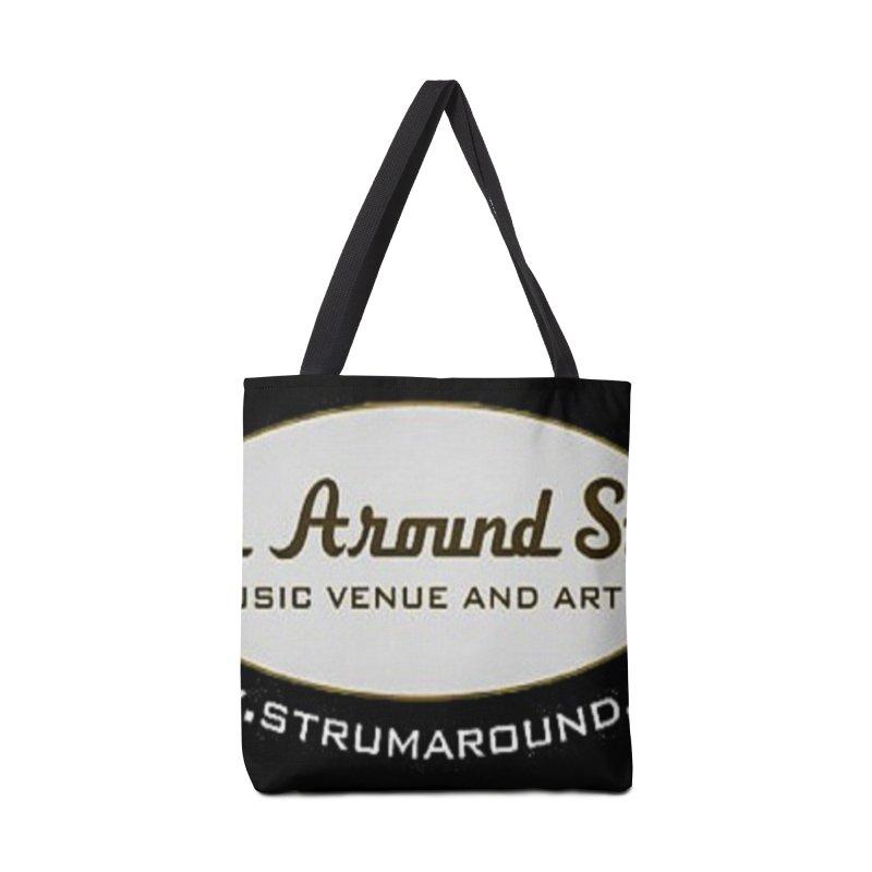 Strum Around Studio (LOGO) Accessories Bag by strumaround's Artist Shop