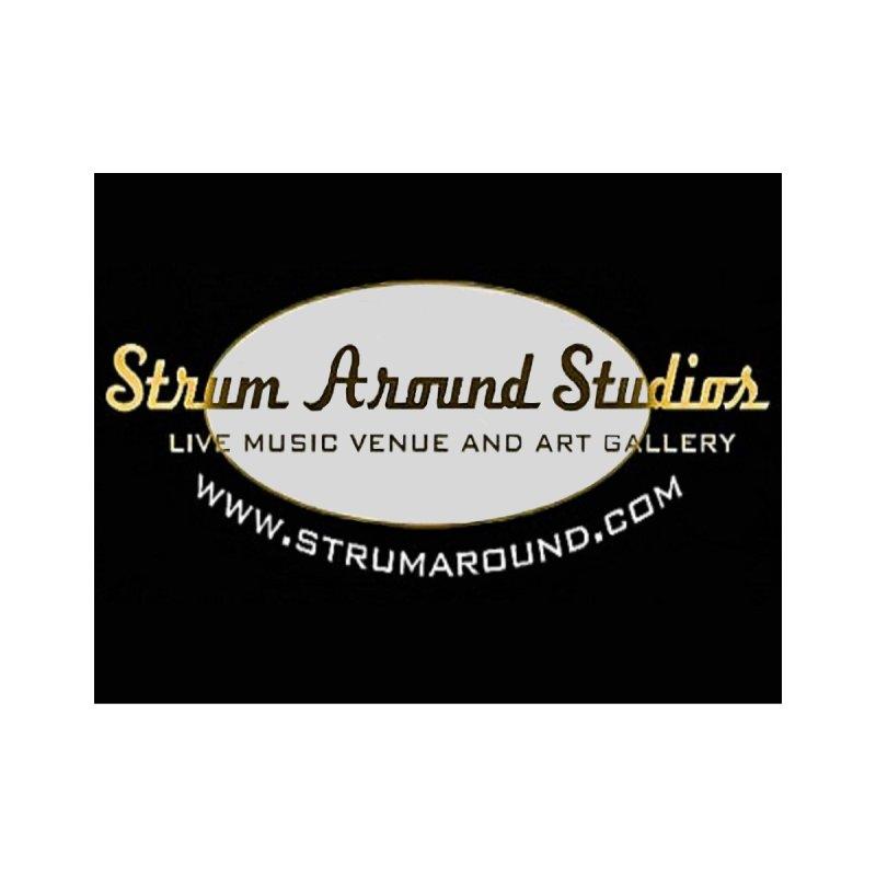 Strum Around Studios Crew shirt Men's T-Shirt by strumaround's Artist Shop