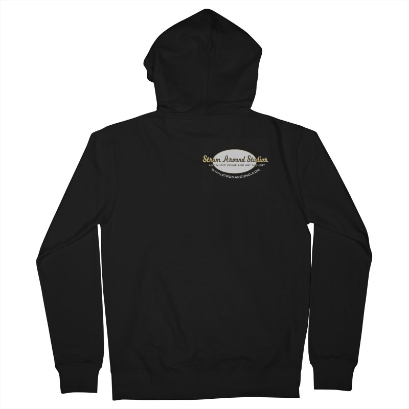 Strum Around Studios Crew shirt Men's Zip-Up Hoody by strumaround's Artist Shop