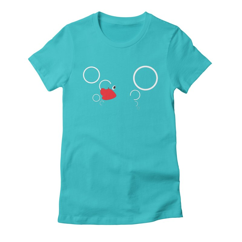 Rubber Ducky Women's Fitted T-Shirt by stuartwitts's Artist Shop