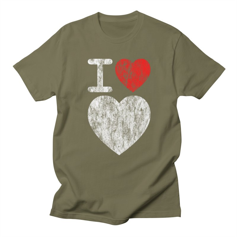 I Love LOVE! Men's T-Shirt by stuartwitts's Artist Shop
