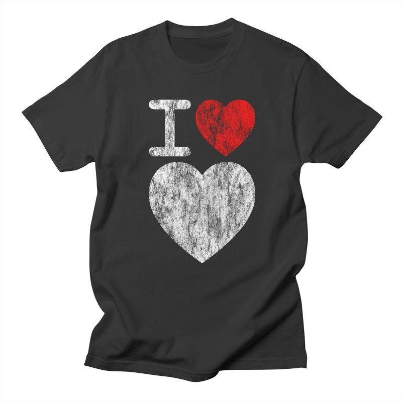 I Love LOVE! Men's T-shirt by stuartwitts's Artist Shop