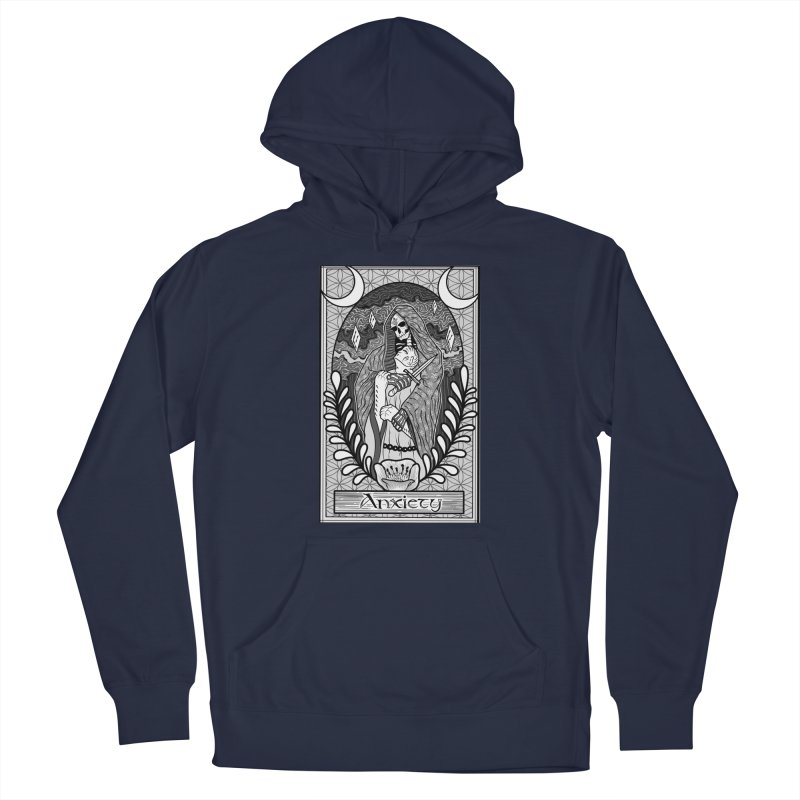 Anxiety Men's Pullover Hoody by Studio 617 Tattoos