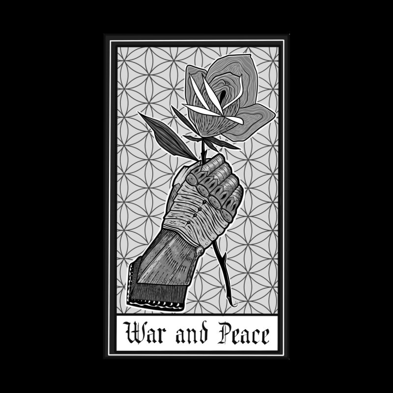 War and Peace Men's T-Shirt by Studio 617's Artist Shop