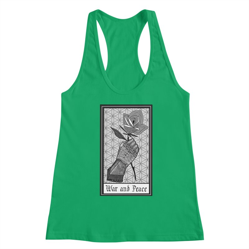 War and Peace Women's Tank by Studio 617 Tattoos