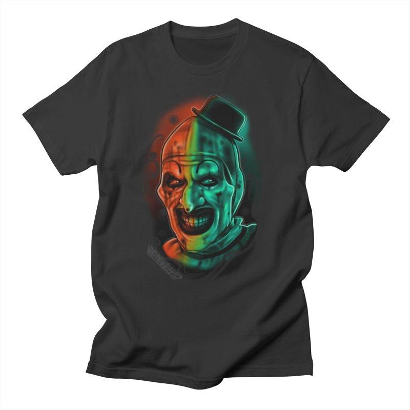 Scary Clown Men's T-Shirt by Studio 617 Tattoos