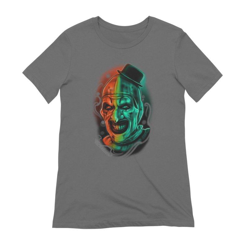 Scary Clown Women's T-Shirt by Studio 617 Tattoos