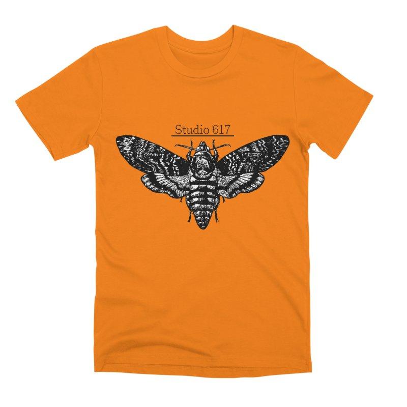 moth logo Men's Premium T-Shirt by Studio 617's Artist Shop