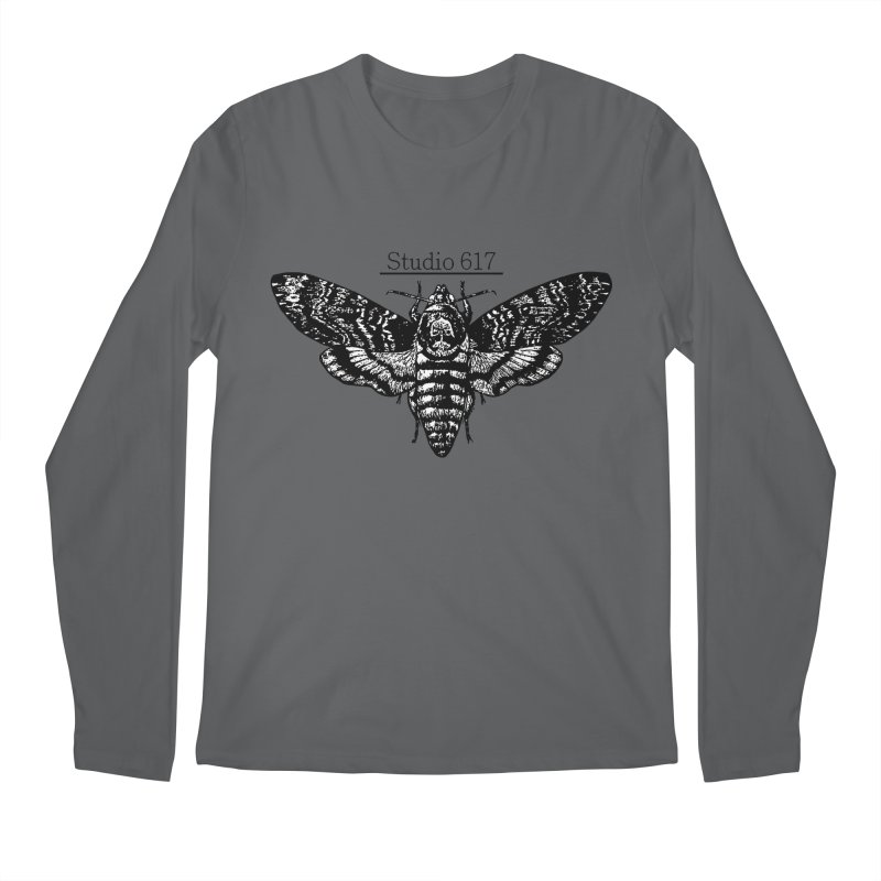 moth logo Men's Longsleeve T-Shirt by Studio 617's Artist Shop