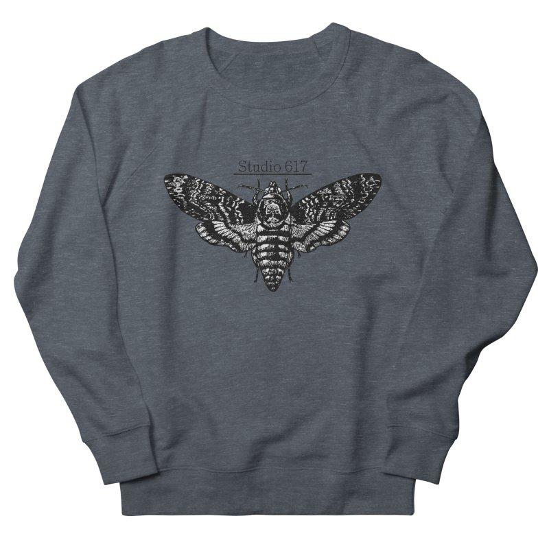 moth logo Women's French Terry Sweatshirt by Studio 617's Artist Shop