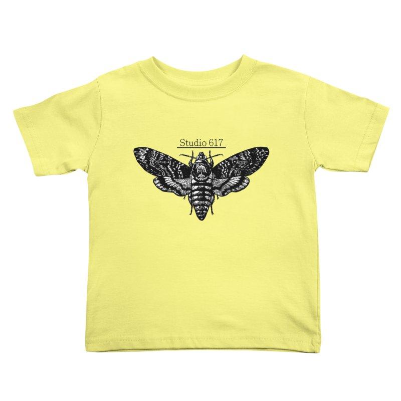 moth logo Kids Toddler T-Shirt by Studio 617's Artist Shop