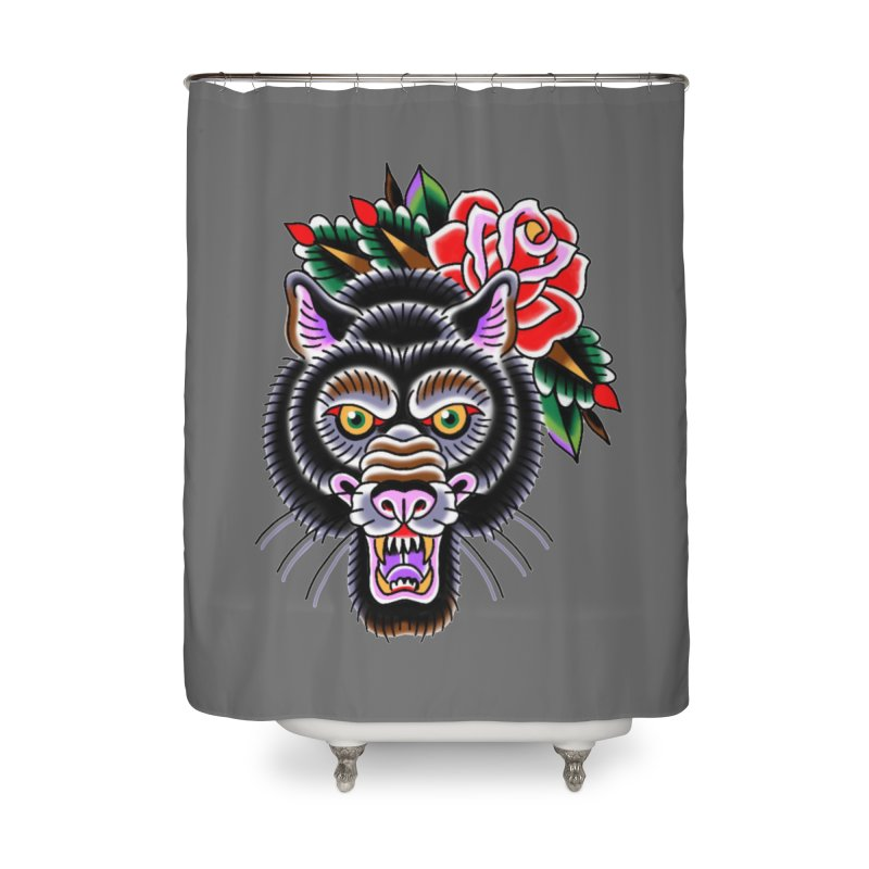 Wolf Home Shower Curtain by Studio 617's Artist Shop