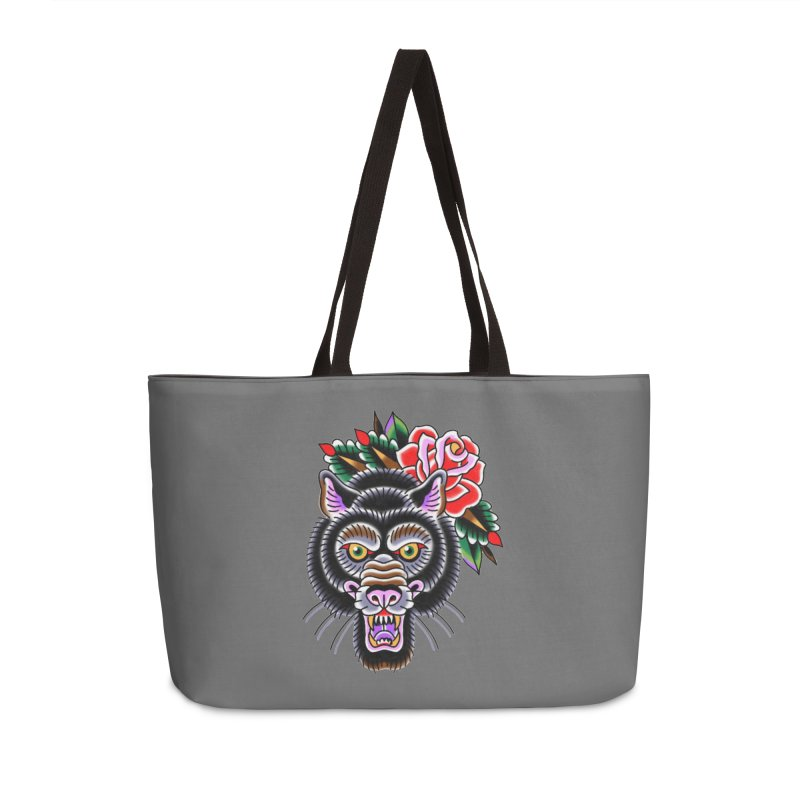Wolf Accessories Weekender Bag Bag by Studio 617's Artist Shop