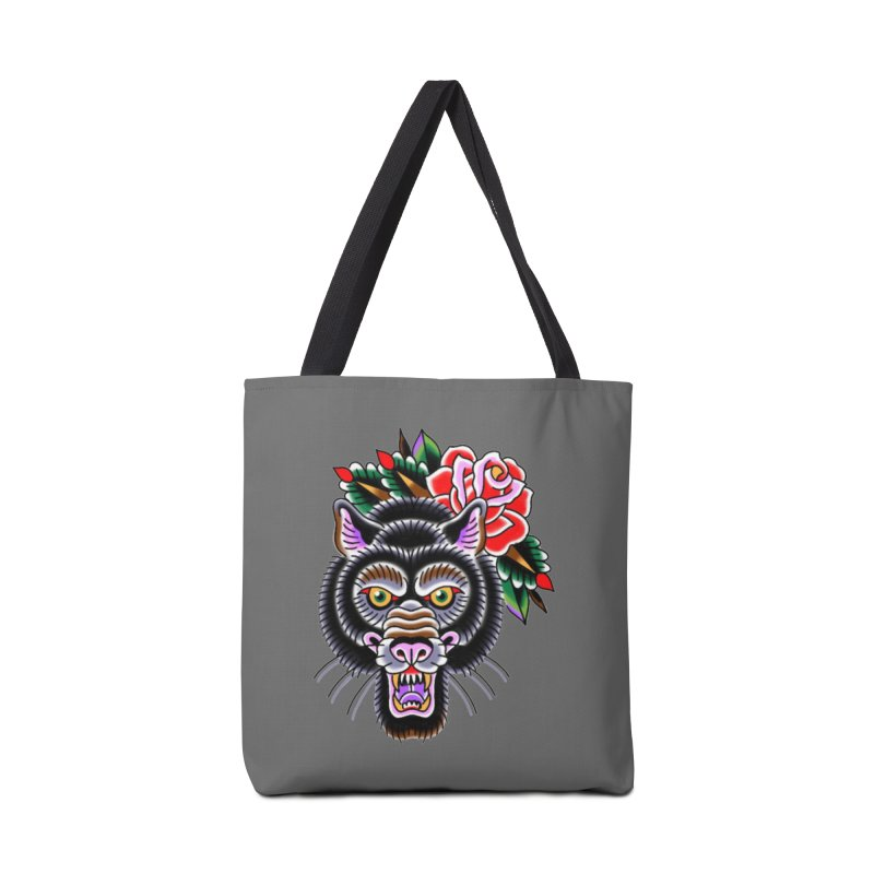 Wolf Accessories Tote Bag Bag by Studio 617's Artist Shop