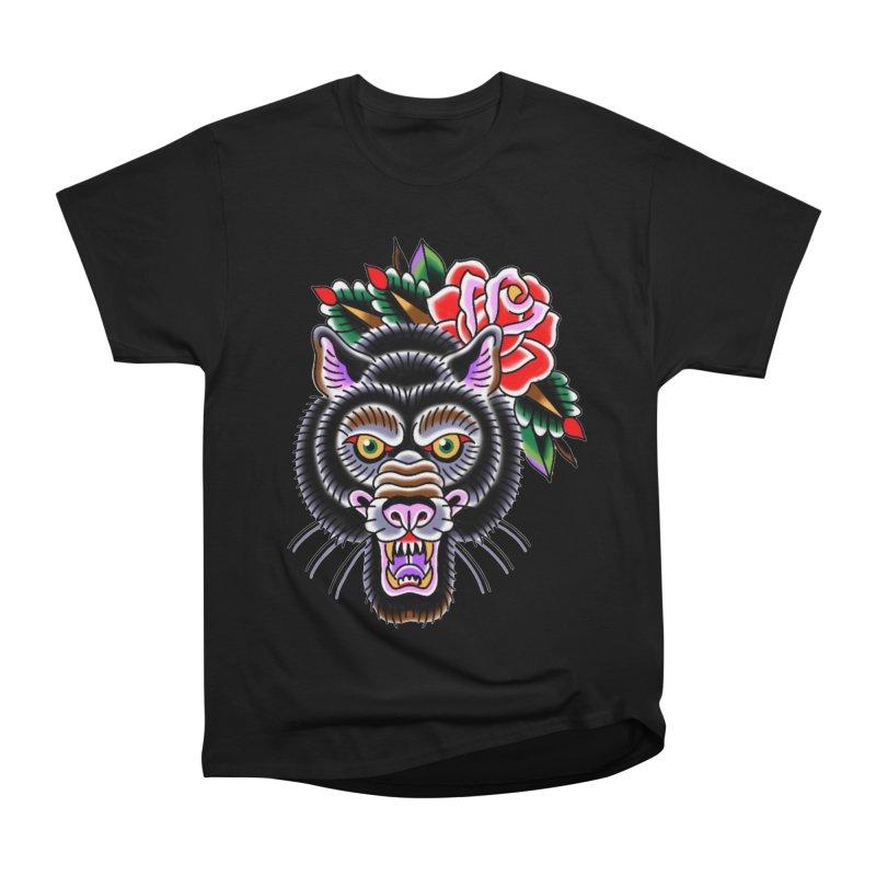 Wolf Men's Heavyweight T-Shirt by Studio 617's Artist Shop