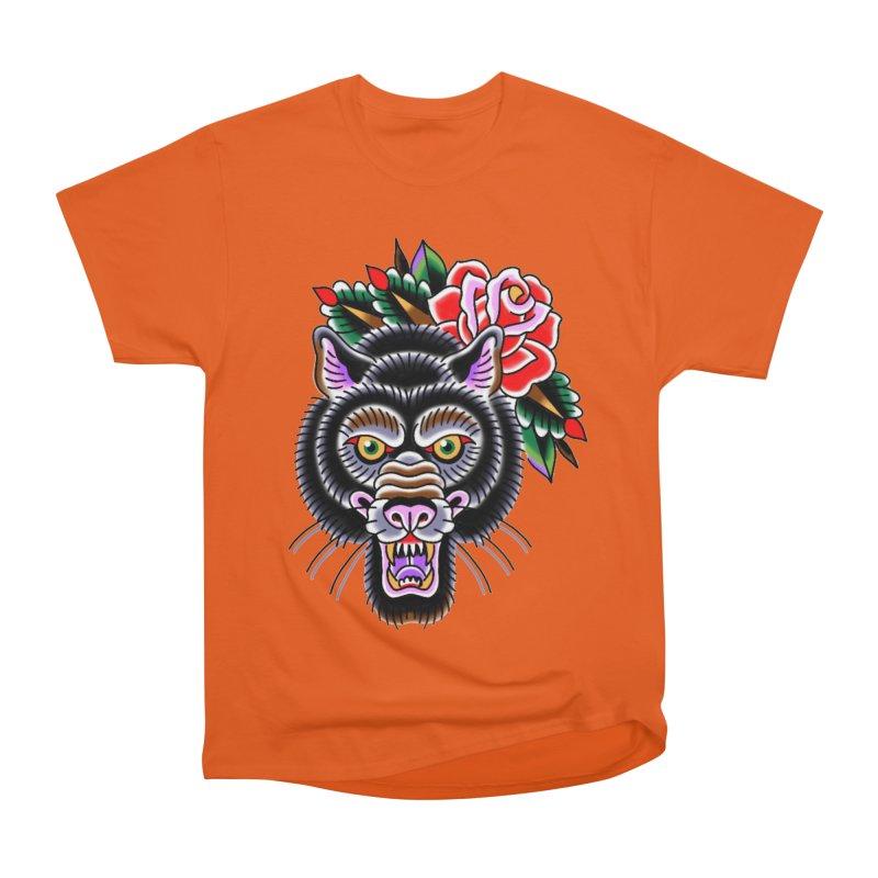 Wolf Women's Heavyweight Unisex T-Shirt by Studio 617's Artist Shop