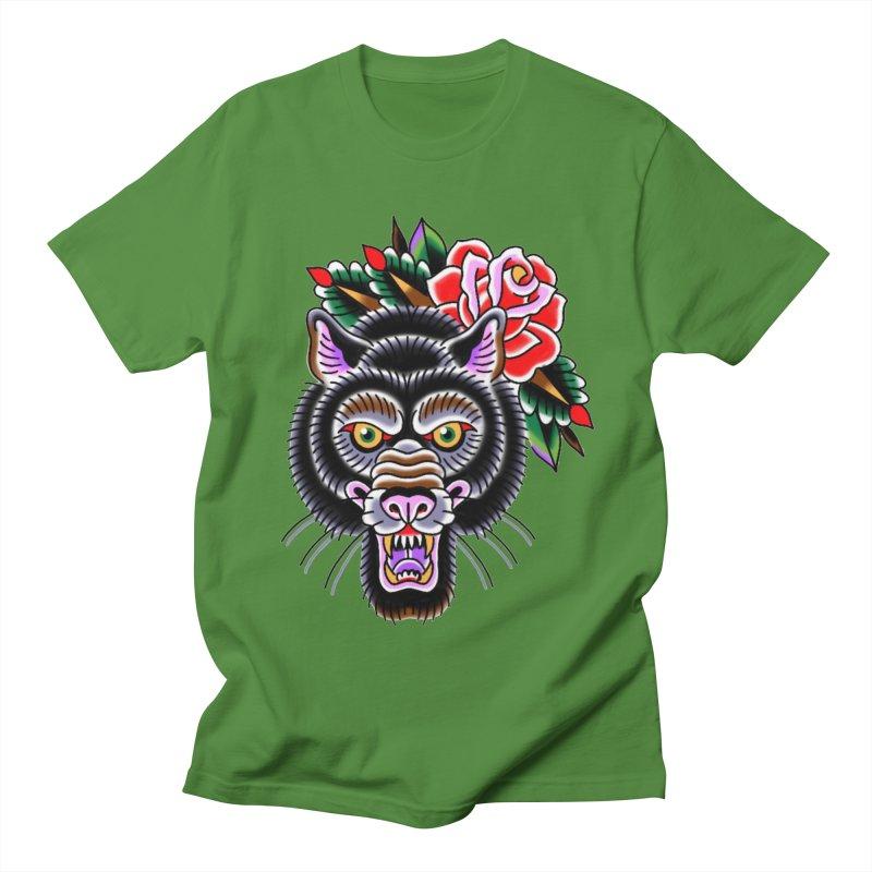 Wolf Women's Regular Unisex T-Shirt by Studio 617's Artist Shop