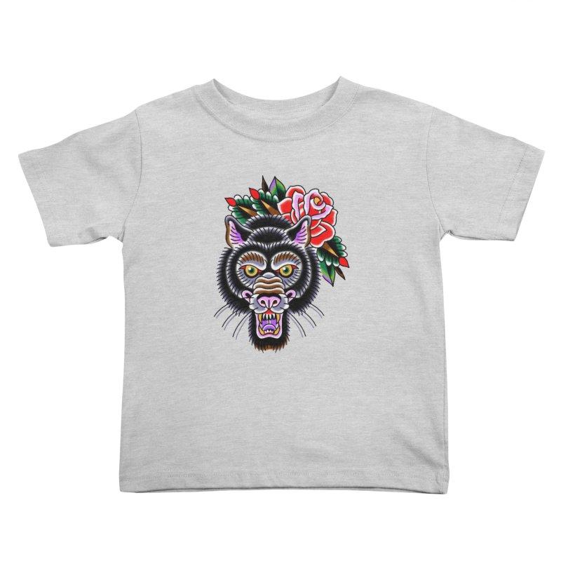 Wolf Kids Toddler T-Shirt by Studio 617's Artist Shop