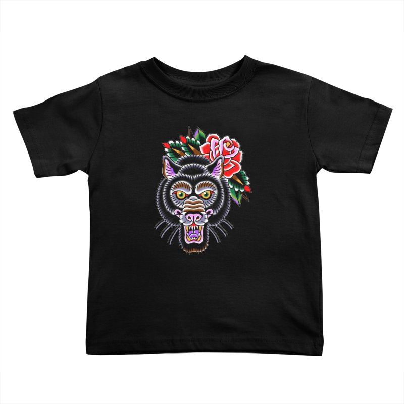 Wolf Kids Toddler T-Shirt by Studio 617's Artist Shop