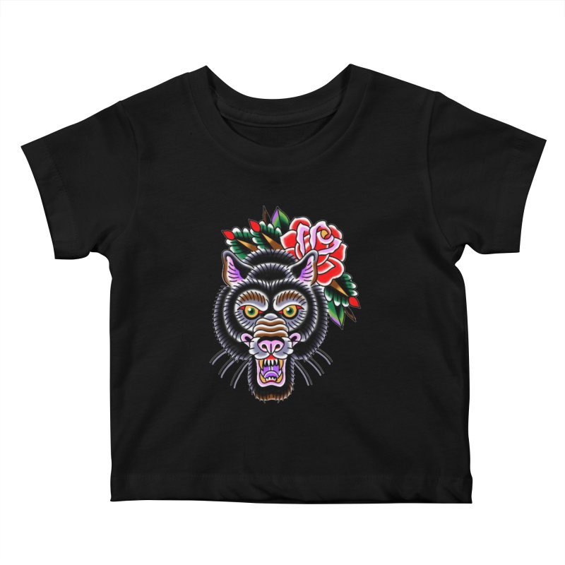 Wolf Kids Baby T-Shirt by Studio 617's Artist Shop